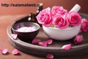 زیبایی پوست با روغن گل سرخ