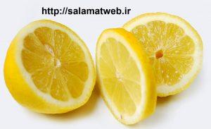 لیمو برای درمان لکه قهوه ای پوست