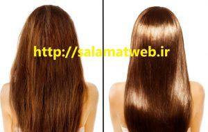 عوارض ناشی از کراتینه کردن موها