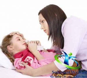 تب و دمای بدن بالا در کودکان