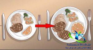 بزرگ کردن باسن با افزایش میزان کالری مصرفی