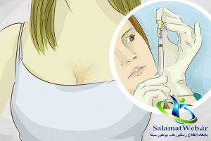 تزریق بوتاکس برای افزایش سایز سینه