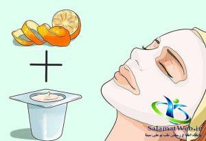 روشن نمودن پوست صورت و بدن با ماسک پوست پرتقال
