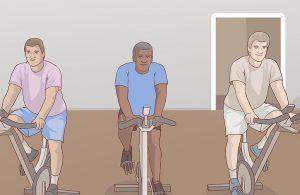 بزرگ کردن باسن با دوچرخه ثابت