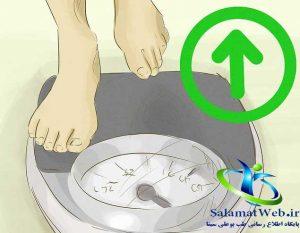 افزایش وزن و افزایش سایز سینه