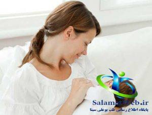 تغذیه با شیر مادر و بزرگ کردن سینه