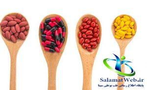 قرص های گیاهی برای بزرگ شدن سینه