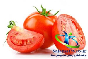 گوجه فرنگی و روشن کردن رنگ پوست