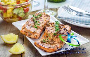 کاهش وزن با مصرف ماهی