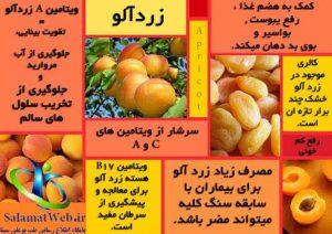 ترکیبات زردآلو