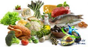 چاقی صورت و گونه با تغذیه