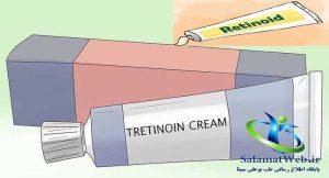 محصولات حاوی ترتینوئین