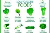 10 نوع از بهترین مواد غذایی کم کالری برای کاهش وزن