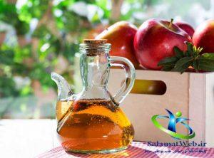 رهایی از چاقی شکمی با سرکه سیب