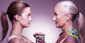 تاخیر پیری با چای لاغری