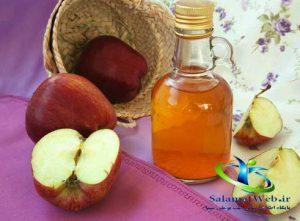 درمان گال با سرکه سیب