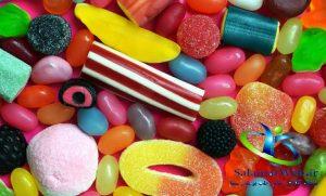 نقش مواد شیرین در تسریع پیری