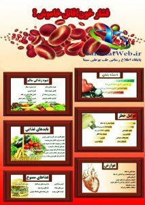 عوارض ناشی از فشار خون بالا