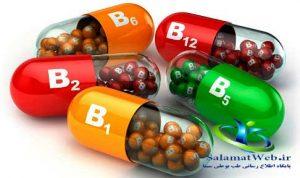 ویتامین های گروه ب و جلوگیری از ریزش مو
