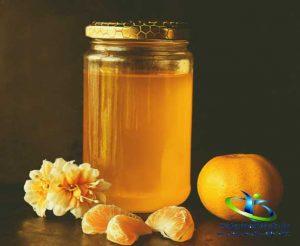 رنگ ظاهری عسل
