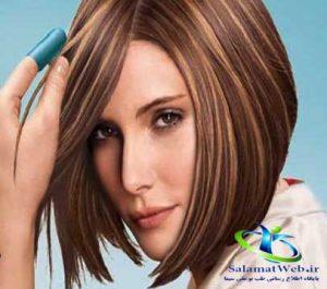 هایلایت موهای کوتاه