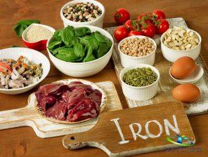 مواد غذایی حاوی آهن