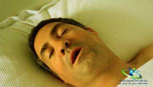 درمان خفگی در خواب