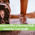 پیاده روی صبحگاهی چه مزایایی برای سلامتی دارد ؟