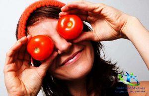 ماسک گوجه فرنگی برای جوش