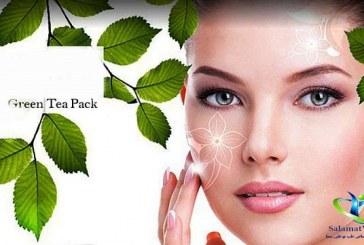 ماسک چای سبز و مزایای آن برای زیبایی و جوانی پوست