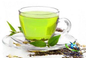 ماسک چای سبز و ماست