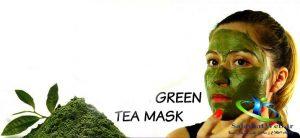 ماسک پودر چای سبز