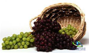 خواص انگور برای پوست
