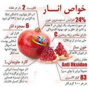 ویتامین های انار