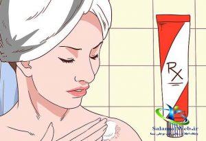 کورتیکو استروئید برای درمان اگزما