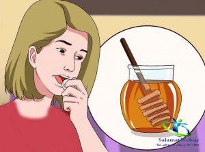 درمان آفت دهان با عسل