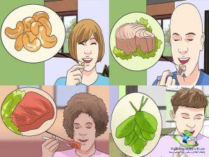 برای آفت دهان چه بخوریم