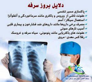 درمان سرفه خشک با زنجبیل