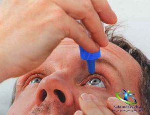 درمان چشم درد سرماخوردگی