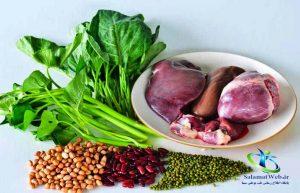 درمان کم خونی در طب سنتی