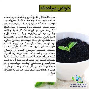 عوارض خطرناک سیاه دانه