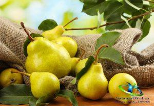مضرات میوه گلابی