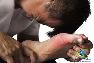 بیماری نقرس وعلایم آن+برای درمان نقرس چه بخوریم؟