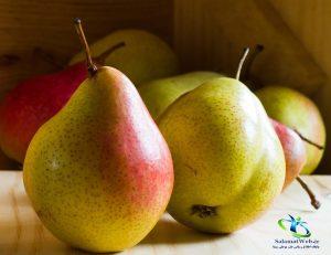 نحوه مصرف میوه گلابی