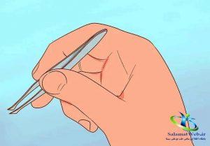 از بین بردن موهای زائد با خمیر دندان