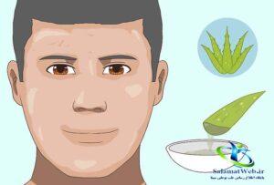 درمان پوست چرب صورت در طب سنتی