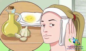 درمان گوش درد با سیر