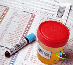 تشخیص خون ادراری