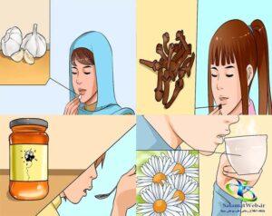 درمان گیاهی ورم لوزه