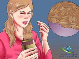 از بین بردن نفخ شکم در طب سنتی